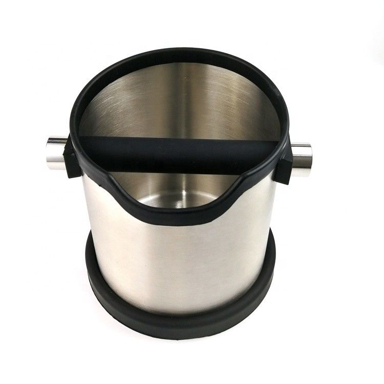 Professional Coffee Grind Knock Box / Countertop Knock Box  For Coffee Grounds