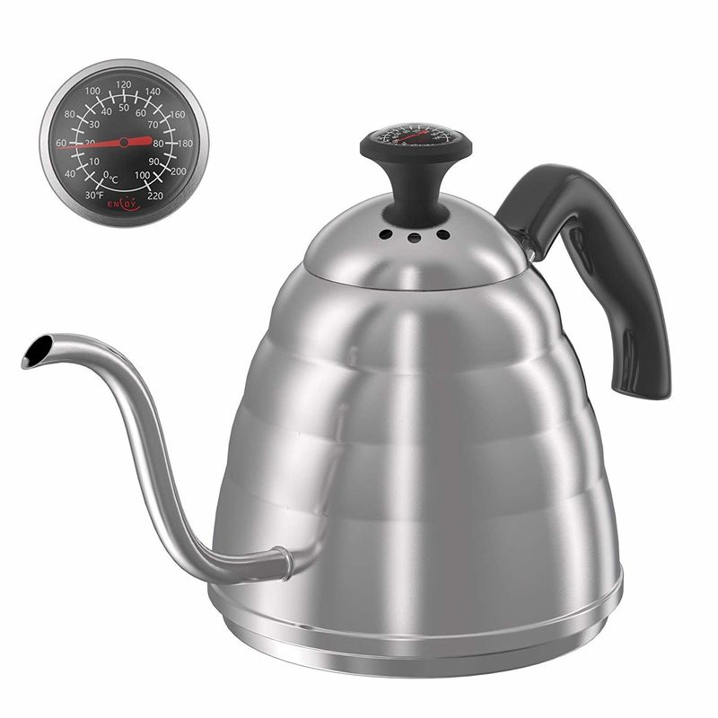 Commercial Stainless Steel Coffee Pot Gooseneck Coffee Pot Kettle For Making Coffee