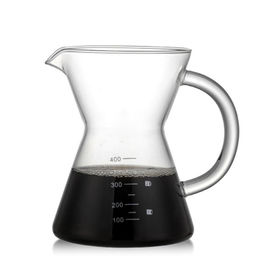 Morden Stainless Steel Coffee Pot / Silver Manual Drip Coffee Maker