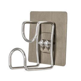 Double Robe Stainless Steel Wall Hanger